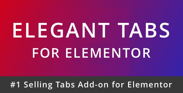 Elegant Tabs for Elementor - CodeCanyon Item for Sale
