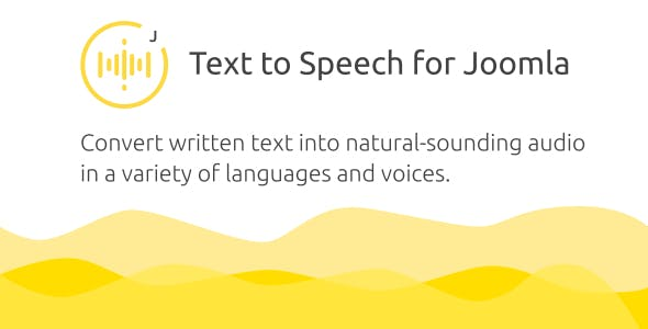 Golos — Text to Speech Plugin for Joomla