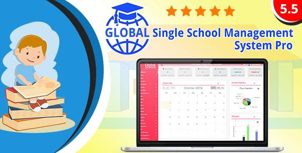 Global - Single School Management System Pro