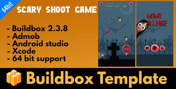 Horror Game shooting - Buildbox 2.3.8 Template - CodeCanyon Item for Sale