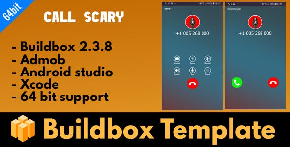 Call scary - Buildbox 2.3.8 Template