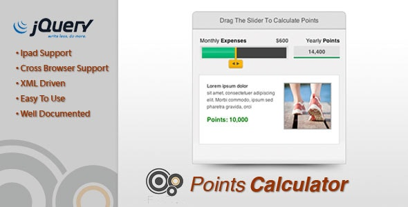 Points Calculator - CodeCanyon Item for Sale