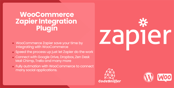 WooCommerce Zapier Integration Plugin - CodeCanyon Item for Sale