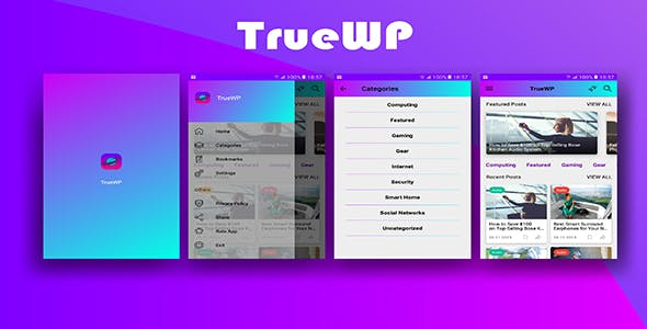 TrueWP - Wordpress News App