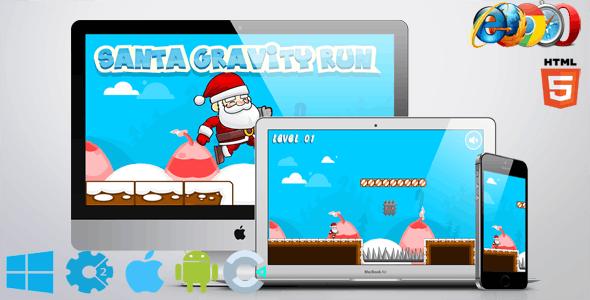 Santa Gravity Run - CodeCanyon Item for Sale