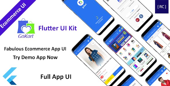 Flutter E-commerce App UI Kit - GoKart