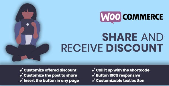 WooCommerce Share for Discount