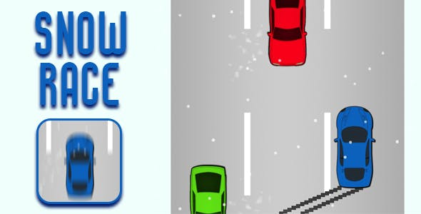 Snow Race - HTML5 Game (CAPX)