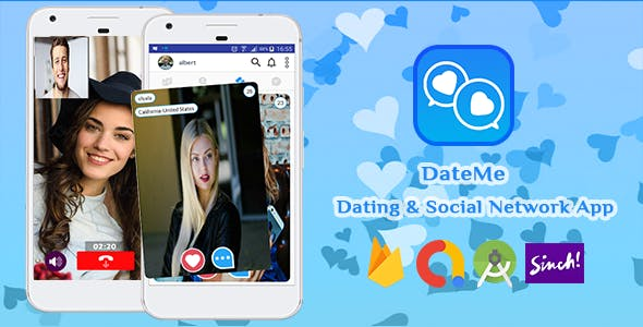 DateMe - Android Dating & Social Network App