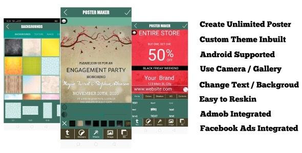 Poster Maker, Photo Collage, Flyer Designer, Ads Page Designer - CodeCanyon Item for Sale