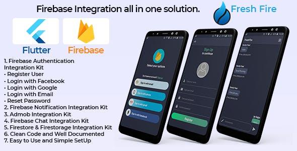 Flutter Fresh Firebase