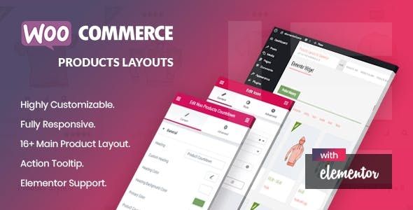 Noo Products Layouts - WooCommerce Addon for Elementor Page Builder