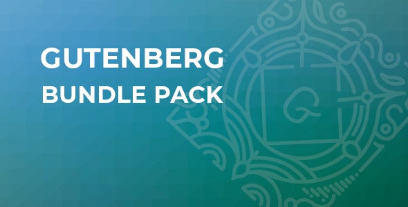 Gutenberg Bundle Pack - CodeCanyon Item for Sale