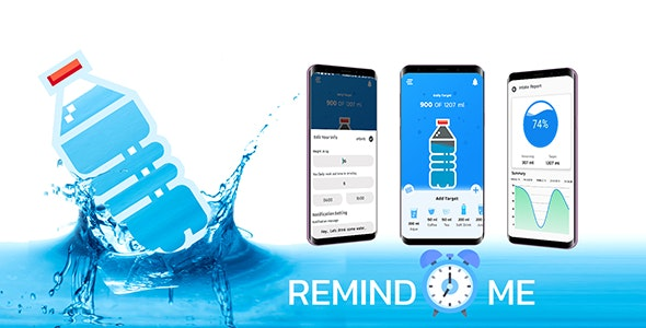 Water Reminder - CodeCanyon Item for Sale