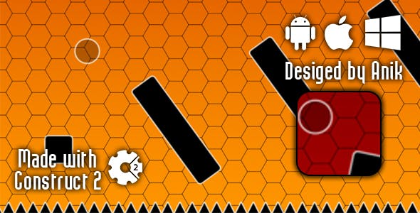 Ball Adventure - HTML5 Game (CAPX)