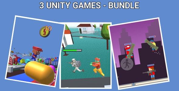 3 Unity Games - Bundle - CodeCanyon Item for Sale