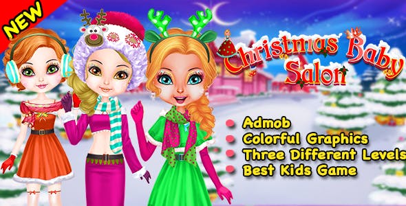 Christmas Baby Salon + Best Game For Kids + Ready For Publish + Android