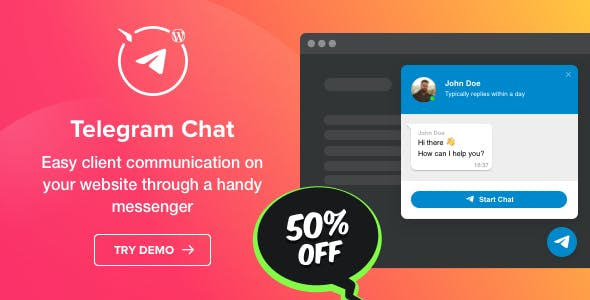 Telegram Chat Plugin for WordPress