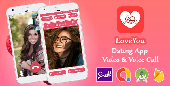 LoveYou - Dating App with Video & Voice Call