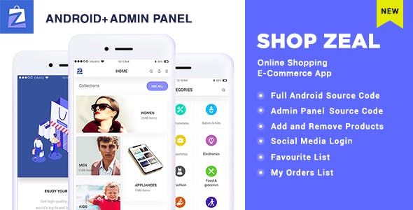 Shop Zeal- Online Shopping Android E-Commerce App