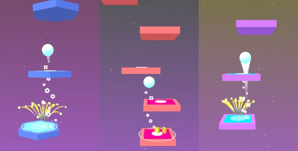 Unity Game Template - Jumpy Sky