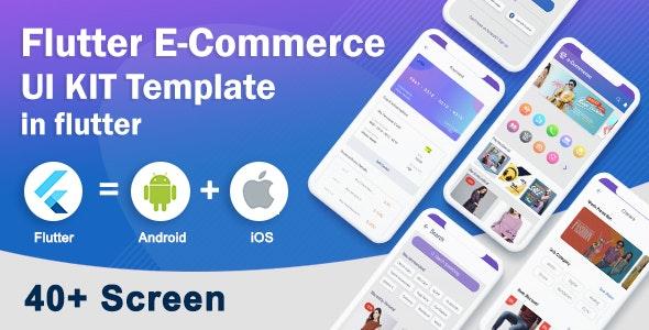Flutter E-Commerce UI Kit - CodeCanyon Item for Sale
