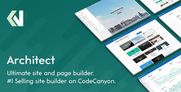 Architect - HTML and Site Builder - CodeCanyon Item for Sale