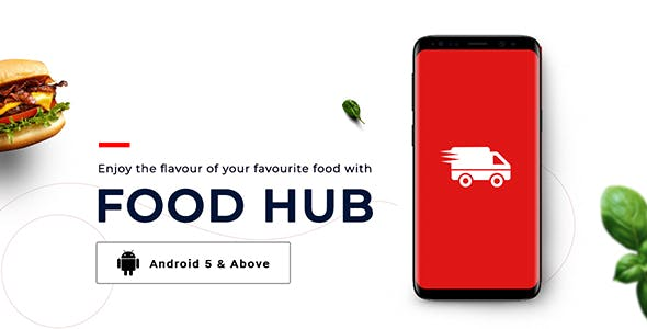 FoodHub | Food Ordering App | Android Template