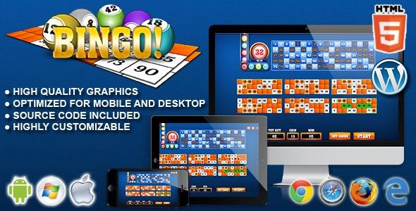 Bingo! - HTML5 Gambling Game - CodeCanyon Item for Sale