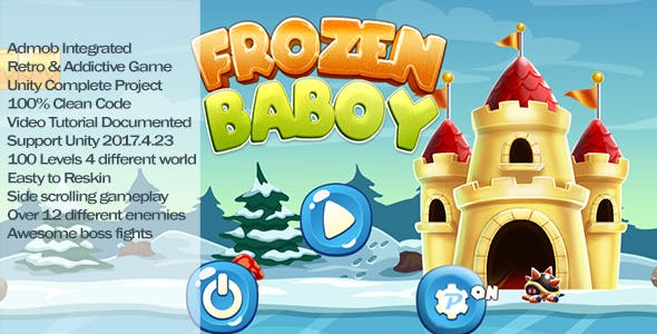 Frozen Boy Runner - Unity Complete Project with Admob