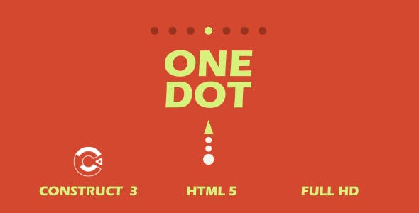 One Dot - HTML5 Game (Construct3)