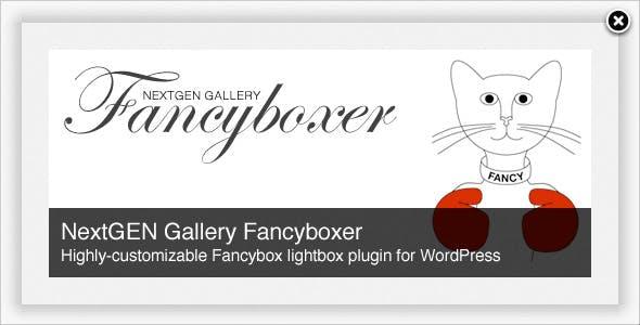 NextGEN Gallery Fancyboxer