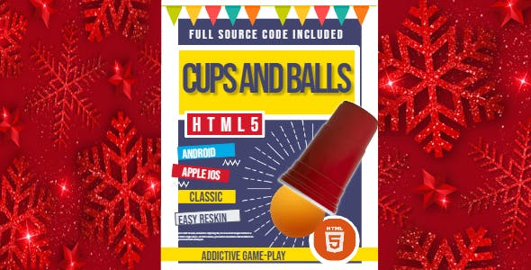 HTML5 Cups and Balls - HTML5 Game