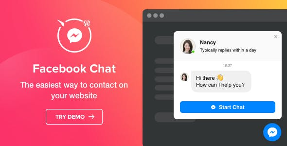Facebook Chat - Facebook Messenger for WordPress