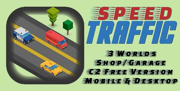 Speed Traffic | HTML5 Game (capx)