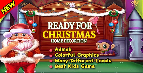 Santa Christmas Home Decoration + Ready For Publish + Android