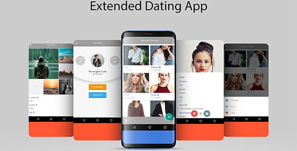 Extended Dating App with Firebase Realtime and Admin Panel