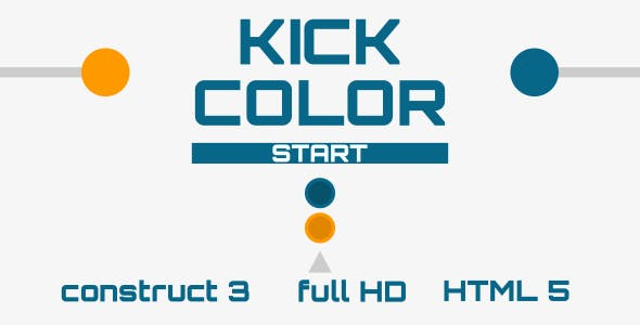Kick Color - HTML5 Game (Construct3)