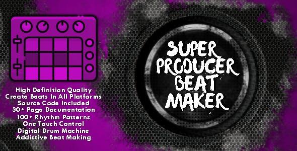 Super Producer Beat Maker 2022 HTML5 Game - HTML5 Website