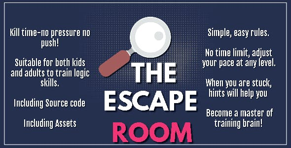 The Escape Room - HTML5 Game - HTML5 Website