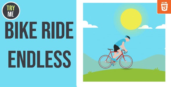 Bike Ride Endless - HTML5 Game - HTML5 Website