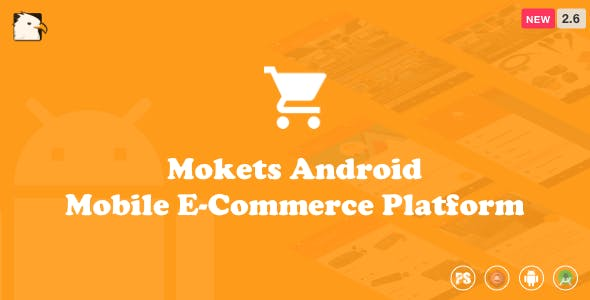 Mokets (Mobile Commerce Android Full Application With Material Design) V2.6