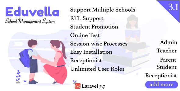 Eduvella Multi-School School Management System