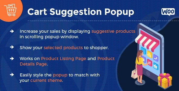 Add To Cart Suggestion Popup - WooCommerce - CodeCanyon Item for Sale