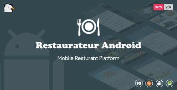 Restaurateur Android (Full Application For Restaurant Platform With Material Design) V2.6