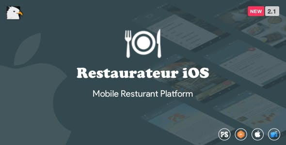 Restaurateur iOS (Full Application For Restaurant Platform) 2.1