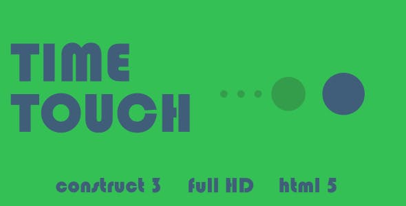Time Touch - HTML5 Game (Construct3)