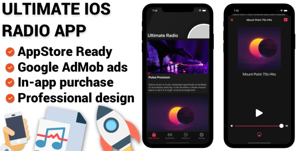 Ultimate Radio - iOS Full Application - CodeCanyon Item for Sale