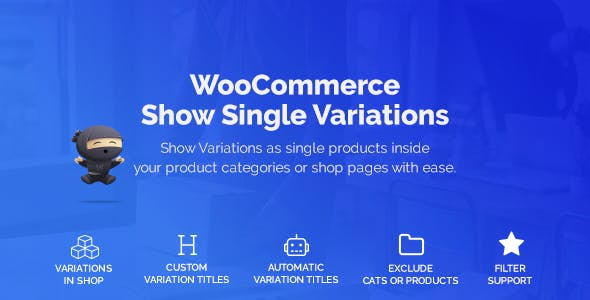 WooCommerce Show Variations as Single Products