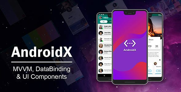 AndroidX – MVVM DataBinding Material Design UI Components